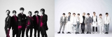 SixTONES vs Snow Manデビューシングル「Imitation Rain/D.D.」で「初週売上枚数」の男性アーティスト歴代1位も記録したSixTONESとSnow Man(右)