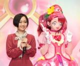 (左から)悠木碧、キュアグレース (C)ORICON NewS inc.