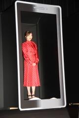 映画『スマホを落としただけなのに 囚われの殺人鬼』完成披露舞台挨拶に出席した白石麻衣 (C)ORICON NewS inc.