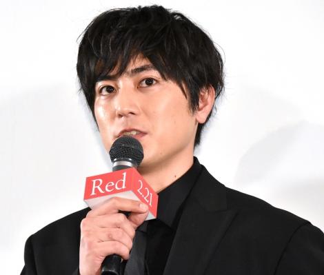 映画『Red』の完成披露プレミア上映会に登壇した間宮祥太朗 (C)ORICON NewS inc.