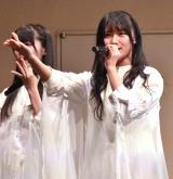 4thシングル「無謀な夢は覚めることがない」の発売記念イベントを行ったSTU48 (C)ORICON NewS inc.
