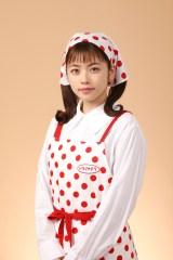 4月期ドラマ『美食探偵 明智五郎』に出演する小芝風花 (C)日本テレビ