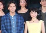 ミュージカル『ウエスト・サイド・ストーリー』日本キャスト版 Season2の取材会 に出席した(左から)森崎ウィン、田村芽実 (C)ORICON NewS inc.