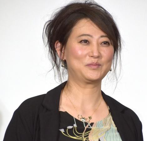映画『嘘八百 京町ロワイヤル』初日舞台挨拶に出席した友近 (C)ORICON NewS inc.
