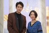 高橋あず美は名曲「メモリー」を披露(C)NHK