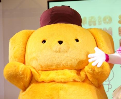 『SANRIO EXPO 2020』の記者会見に出席したポムポムプリン (C)ORICON NewS inc.