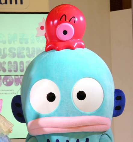 『SANRIO EXPO 2020』の記者会見に出席したハンギョドン (C)ORICON NewS inc.