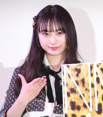 『SANRIO EXPO 2020』の記者会見に出席した梅山恋和 (C)ORICON NewS inc.