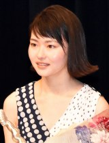 『第41回ヨコハマ映画祭』最優秀新人賞を受賞した山田杏奈 (C)ORICON NewS inc.