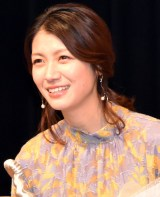 『第41回ヨコハマ映画祭』最優秀新人賞を受賞した瀧内公美 (C)ORICON NewS inc.