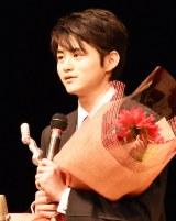 『第41回ヨコハマ映画祭』最優秀新人賞を受賞した鈴鹿央士 (C)ORICON NewS inc.