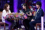 6月28日放送、『細木数子の娘かおりがズバリ!あなたの人生変えに来ました』宮崎謙介・金子恵美夫妻(C)テレビ東京