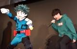 デクの劇中せりふを再現する山下大輝=『TOKYOアニメツーリズム2020デジタルスタンプラリー』キックオフイベント (C)ORICON NewS inc.