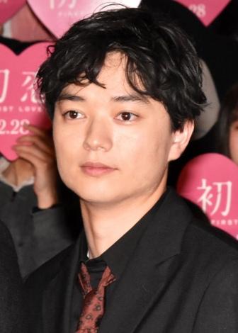 映画『初恋』ジャパンプレミアイベントに登壇した染谷将太 (C)ORICON NewS inc.