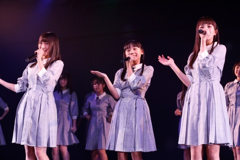 STU48・2期研究生初の劇場公演『僕の太陽』初日より(C)STU