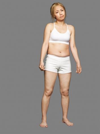体重6.5キロ減で大変身したMAX LINAのビフォー