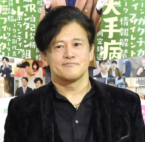 NHK・BSプレミアムドラマ『シューカツ屋』の記者発表会に出席した橋本じゅん (C)ORICON NewS inc.