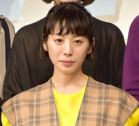 映画『架空OL日記』完成披露試写会に出席した夏帆 (C)ORICON NewS inc.