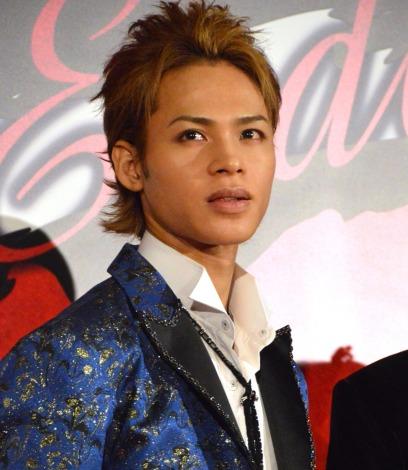 ミュージカル『Endless SHOCK 20th Anniversary』の囲み取材に出席した上田竜也 (C)ORICON NewS inc.