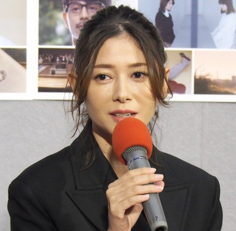 NHK特集ドラマ『ファーストラヴ』試写会に出席した真木よう子 (C)ORICON NewS inc.