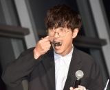 コラボイベント『SKYTREE in MIDGAR FINAL FANTASY VII REMAKE』の初日PRイベントに参加した櫻井孝宏 (C)ORICON NewS inc.