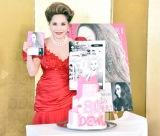 『漫画版「選ばれる女におなりなさい デヴィ夫人の華麗で激動なる人生」』の発売記念トークショーに出席したデヴィ夫人 (C)ORICON NewS inc.