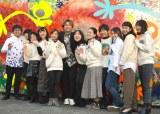 壁画『Be the Differenceアート』除幕式とお披露目に参加した香取慎吾 (C)ORICON NewS inc.