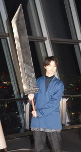 コラボイベント『SKYTREE in MIDGAR FINAL FANTASY VII REMAKE』の初日PRイベントに参加した高杉真宙 (C)ORICON NewS inc.