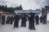 黒の隊服をまとう新選組の新カットが解禁(C)2020「燃えよ剣」製作委員会