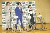 『映画 きかんしゃトーマス チャオ!とんでうたってディスカバリー!!』の公開アフレコ取材会の様子
