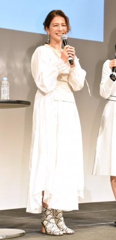 子育てママ応援イベント『レディGO!Project』のトークショーに出席したスザンヌ (C)ORICON NewS inc.