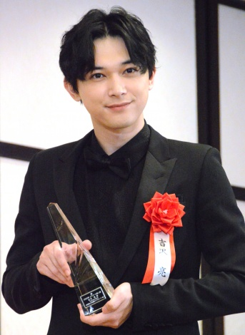 『2020年エランドール賞』授賞式に出席した吉沢亮 (C)ORICON NewS inc.