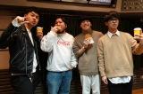 『TALK ABOUT』8日放送回に出演する(左から)土佐卓也、アサノケンジ、工藤大輝、田邊駿一(C)TBSラジオ