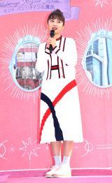 髪用ブランド『マトメージュ』のプレス向け体験会に出席した小宮有紗 (C)ORICON NewS inc.