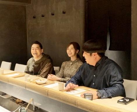 2月11日放送、『バナナマンのドライブスリー』に白石麻衣がガチで通う隠れ家的な和食店へ(C)テレビ朝日