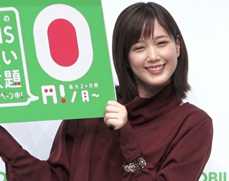 『LINEモバイル』記者発表会に出席した本田翼 (C)ORICON NewS inc.