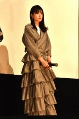 映画『ファンシー』公開記念上映前舞台あいさつに登壇した小西桜子 (C)ORICON NewS inc.