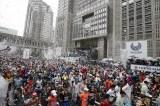 東京マラソン、昨年大会スタートの模様(C)東京マラソン財団