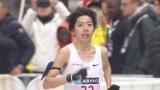 日本代表最後の一枠をかけて出場する設楽選手(C)東京マラソン財団