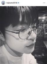 瀬戸康史の横顔ショット(写真はインスタグラムより、事務所許諾済み)