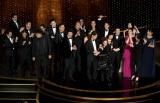 「第92回アカデミー賞授賞式」作品賞受賞に沸く映画『パラサイト 半地下の家族』の関係者(C)Getty Images