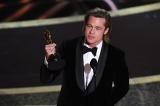 助演男優賞を受賞したブラッド・ピット(映画『ワンス・アポン・ア・タイム・イン・ハリウッド』)=『第92回アカデミー賞授賞式』は2月10日午後9時からWOWOWプライムで放送(字幕版)(C)Getty Imagesges