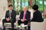 息子の野村克則氏と共に『徹子の部屋』に出演していた野村克也さん (C)テレビ朝日
