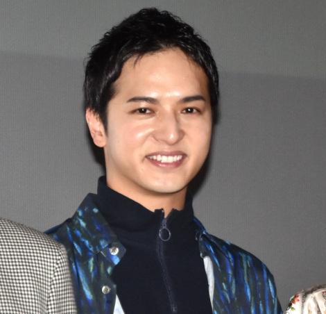 映画『踊ってミタ』の完成披露舞台あいさつに出席した中村優一 (C)ORICON NewS inc.