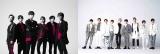 SixTONES vs Snow Manデビューシングル「Imitation Rain/D.D.」で、1位に返り咲いたSixTONESとSnow Man(右)