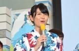 『ようこそ!!ワンガン夏祭り THE ODAIBA 2018』制作発表に出席した新美有加 (C)ORICON NewS inc.