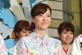 『ようこそ!!ワンガン夏祭り THE ODAIBA 2018』制作発表に出席した内田嶺衣奈 (C)ORICON NewS inc.