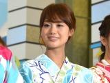 『ようこそ!!ワンガン夏祭り THE ODAIBA 2018』制作発表に出席した井上清華 (C)ORICON NewS inc.