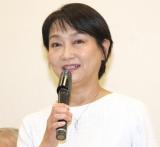 映画『めぐみへの誓い』の制作発表記者会見した石村とも子 (C)ORICON NewS inc.