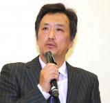 映画『めぐみへの誓い』の制作発表記者会見した大鶴義丹 (C)ORICON NewS inc.